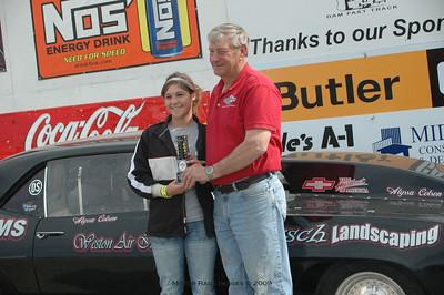 Winners Circle May 3, 2009