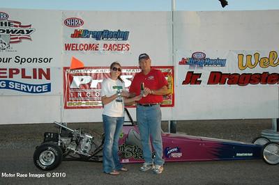 Winners Circle Sept 4, 2010