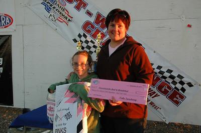 Winners Circle Sep 25, 2010