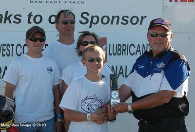 Winners Circle Sept 26, 2010