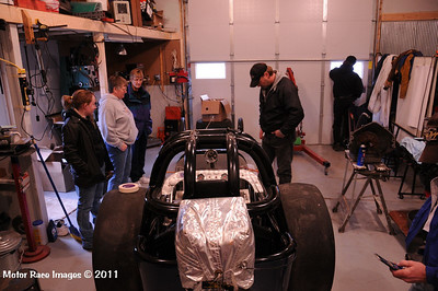 NHRA Chassis Inspection April 30, 2011
