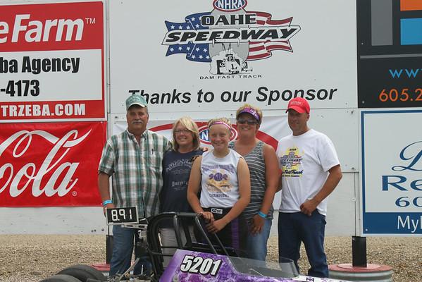 August 3, 2014 Points Race #6