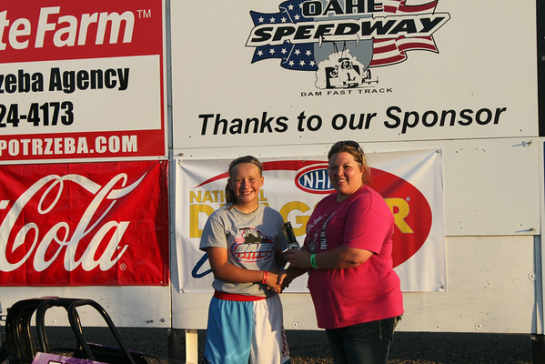 Oahe Speedway Aug. 2, 2014